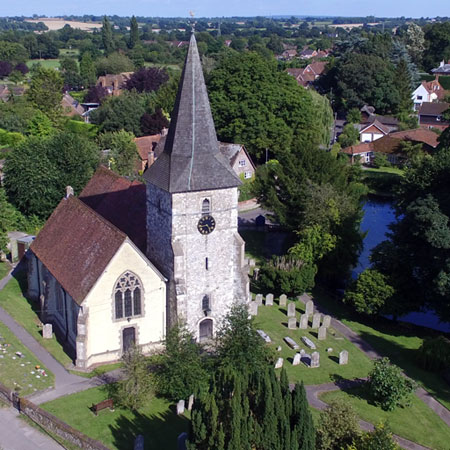 Church Aerial Photography