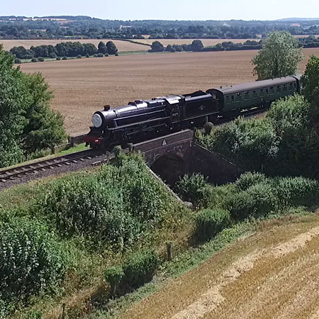Railway Aerial Photography