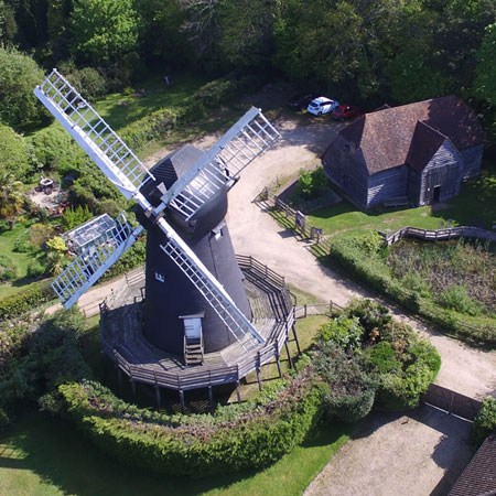 Windmill Aerial Photography